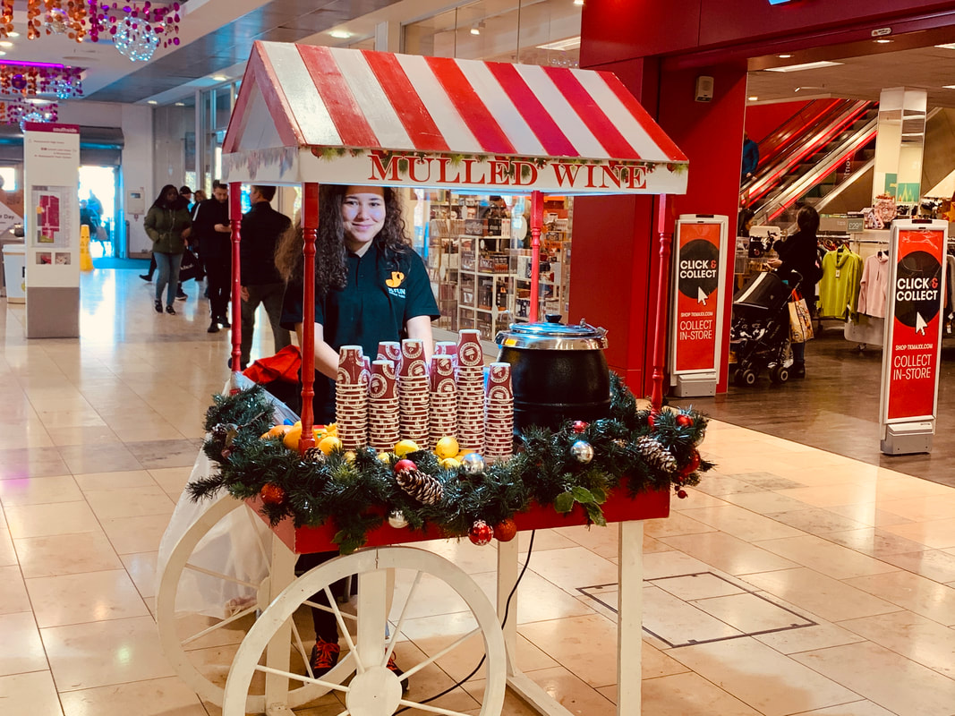 Mulled Wine Cart