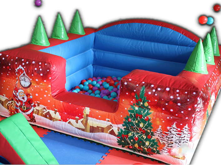 Christmas soft play