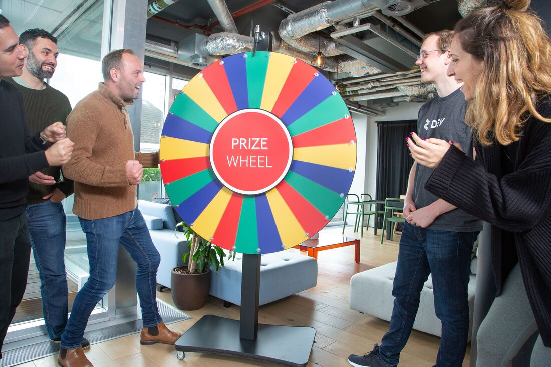 Spin The Wheel Hire London and nationwide